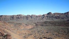 Vale do deserto/cratera - fundo da paisagem filme