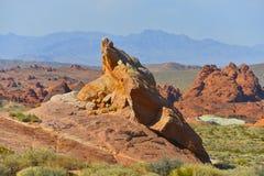 Vale do fogo, Nevada EUA imagem de stock royalty free