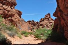 Vale do fogo Nevada United States de América Foto de Stock Royalty Free