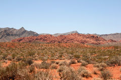 Vale do incêndio, Nevada foto de stock royalty free