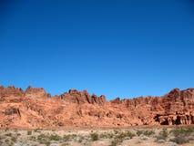 Vale do incêndio, Nevada imagem de stock