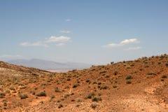 Vale do incêndio, Nevada foto de stock