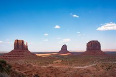 Vale do monumento Foto de Stock Royalty Free