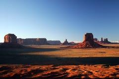 Vale do monumento Fotografia de Stock Royalty Free