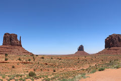 Vale do monumento Foto de Stock