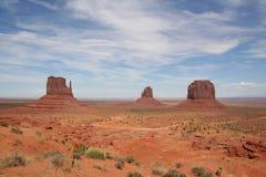 Vale do monumento de quatro cantos, EUA Imagem de Stock