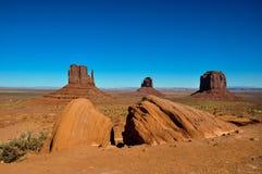 Vale do monumento no Arizona, EUA Fotos de Stock