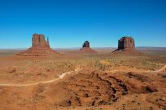 Vale do monumento no Arizona, EUA Foto de Stock