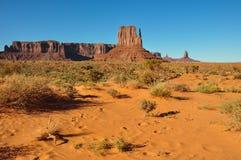 Vale do monumento no Arizona, EUA Fotografia de Stock