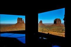 Vale do monumento no Arizona, EUA Fotos de Stock Royalty Free