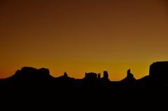 Vale do monumento no Arizona, EUA Fotografia de Stock Royalty Free