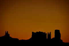 Vale do monumento no Arizona, EUA Imagem de Stock