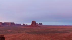Vale do monumento no nascer do sol Imagens de Stock