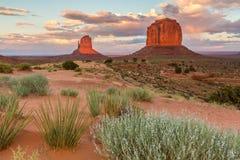 Vale do monumento, o Arizona, cenário Imagem de Stock Royalty Free