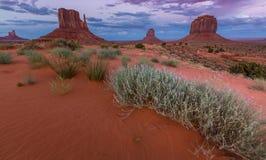 Vale do monumento, o Arizona, cenário Imagem de Stock