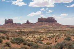 Vale do monumento, o Arizona, Utá Imagem de Stock Royalty Free
