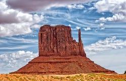 Vale do monumento Parque tribal do Navajo, EUA imagens de stock royalty free