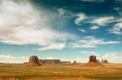 Vale do monumento Parque tribal do Navajo, EUA foto de stock royalty free