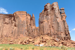 Vale do monumento, Utá, o Arizona Foto de Stock