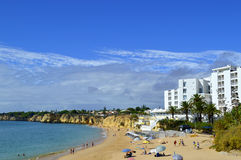 Vale Do Olival Beach on the Algarve Stock Photo