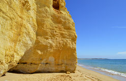 Vale Do Olival Beach on the Algarve Royalty Free Stock Photography