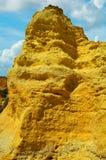 Vale Do Olival Beach Rotsvorming Royalty-vrije Stock Afbeeldingen