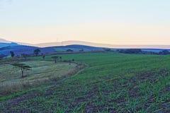 Vale do pôr do sol Imagens de Stock