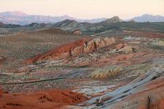 Vale do parque estadual do fogo Fotografia de Stock Royalty Free
