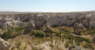 Vale do pombo, Cappadocia Turquia video estoque