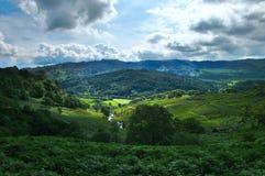 Vale do sonho de Gales fotos de stock