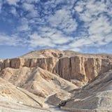 Vale dos reis, Egipto. Fotos de Stock Royalty Free
