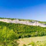 Vale e rocha Fotos de Stock Royalty Free