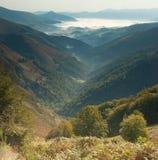 Vale em Pyrenees Fotografia de Stock