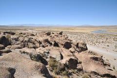 Vale Kala-Kala a cidade de Oruro Foto de Stock