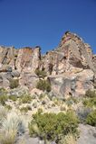 Vale Kala-Kala a cidade de Oruro Imagens de Stock Royalty Free