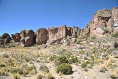 Vale Kala-Kala a cidade de Oruro Fotos de Stock