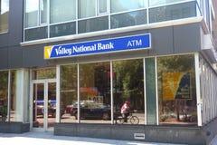 Vale National Bank Foto de Stock Royalty Free