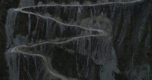 Vale no outono, Altai de Chulyshmanskaya, Rússia video estoque