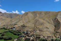Vale nos Himalayas Imagens de Stock