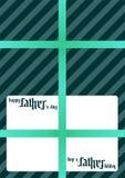 Vale-oferta - pai - dia do ` s do pai Fotos de Stock