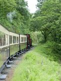 Vale of Rheidol Railway Stock Photo