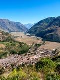 Vale sagrado Peru Imagens de Stock