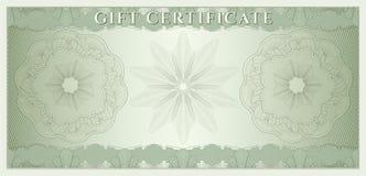 Vale, chèque-cadeaux, cupón, dinero Imágenes de archivo libres de regalías