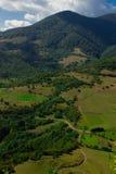 Vale verde Foto de Stock