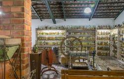 VALE VERDE, BETIM, Brasile-museo del cachaca Fotografia Stock