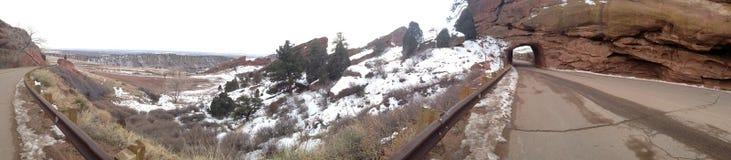vale vermelho de Colorado da rocha Fotografia de Stock Royalty Free