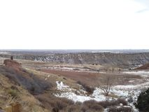 vale vermelho de Colorado da rocha Foto de Stock