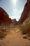 Vale vermelho Nevada dos montes imagem de stock royalty free