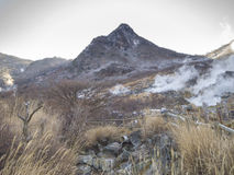 Vale vulcânico de Owakudani, Hakone, Japão Fotos de Stock