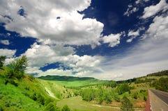 Vale Yellowstone de Lamar Imagem de Stock Royalty Free